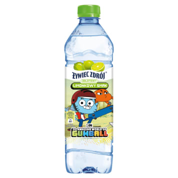 ŻYWIEC ZDRÓJ O Smaku limonki (seria dziecięca) 500ml