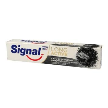 SIGNAL Long Active Pasta do zębów z węglem aktywnym wybielająco - oczyszczająca 75ml