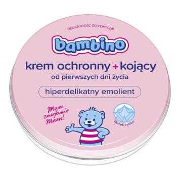 Bambino - krem ochronny dla niemowląt, 150 ml. Pielęgnuje delikatną, dziecięcą skórę.
