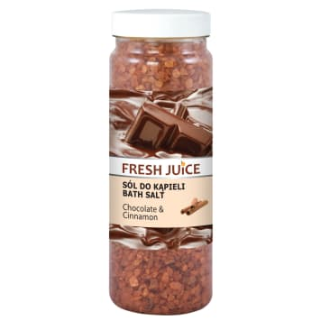 FRESH JUICE Sól do kąpieli Chocolate & Cinnamon 700 g