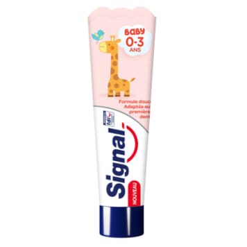 SIGNAL Baby Pasta do zębów o smaku truskawkowym dla dzieci 50ml