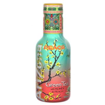 ARIZONA Zielona herbata z miodem i sokiem brzoskwiniowym PET 500ml