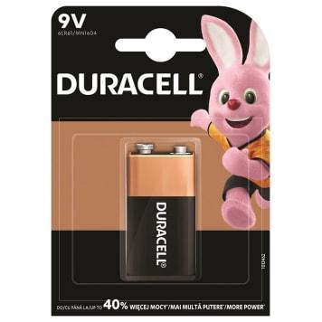 Bateria alkaliczna Basic 6LR61/9V trwalsze nawet 8krotnie dłużej od tradycyjnych baterii.