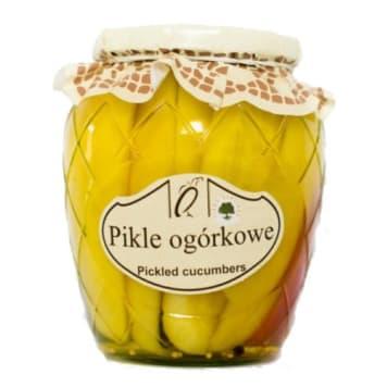 Pikle ogórkowe - Orzeł Polska świetnie sprawdzają się jako składnik domowych sałatek.