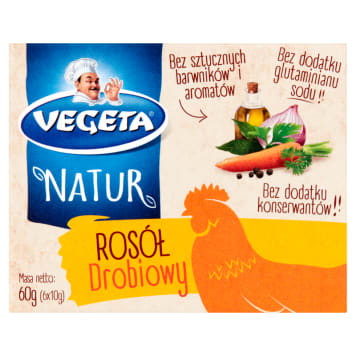 VEGETA Natur Rosół drobiowy 60g