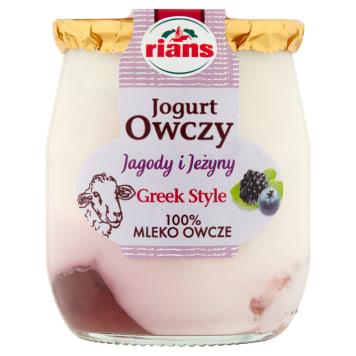 RIANS Jogurt owczy jagoda, jeżyna 115g