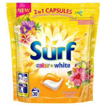 SURF Kapsułki do prania kolorowego i białego Hawaii Dream 30 szt. 723g