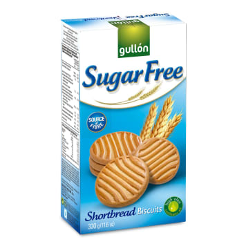 GULLON Kruche ciastka maślane bez cukru 330g