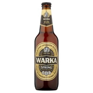 WARKA Strong Piwo jasne (Cena zawiera 0,5zł kaucji za butelkę) 500ml