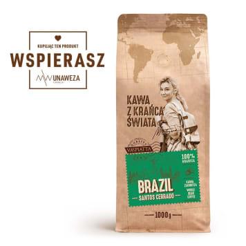 KAWA Z KRAŃCA ŚWIATA Brazil Santos Cerrado 1kg