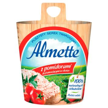 Serek twarogowy - Hochland Almette. Idealne i smaczne kanapki każdego dnia.