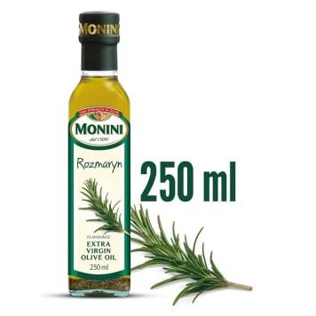 Oliwa z oliwek Extra Virgin z rozmarynem – Monini. Aromatyzowana oliwa z oliwek extra virgin.