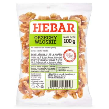 HEBAR Orzechy włoskie 100g