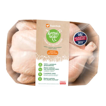 KURCZAK SIELSKI Tuszka z kurczaka  1400-2100 g 1.8kg