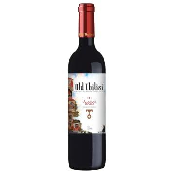 Alazani – Old Tbilisi to pyszne gruzińskie czerwone wino o świeżym smaku.