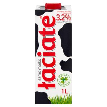 Mleko naturalne o zawartości tłuszczu wynoszącej 3,2% - Łaciate