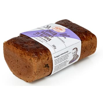 GRZYBKI Chleb razowy ze śliwką 500g