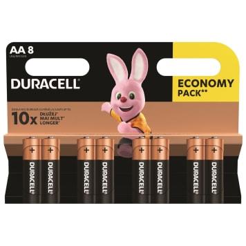 DURACELL LR 6 / AA /  Baterie Alkaliczne 8 szt. 1szt