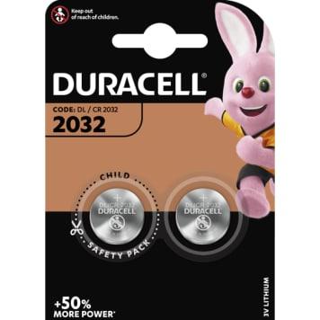 DURACELL 2032 Bateria litowa 2 szt. 1szt