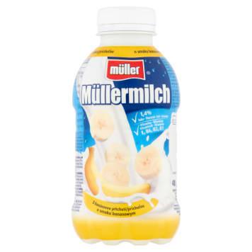 MULLER - mleko bananowe. Połączeniu słodyczy i zdrowia