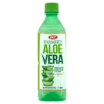 OKF Farmer's Aloe Vera Napój z cząstkami aloesu 500ml