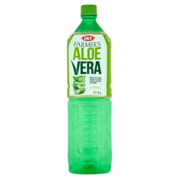OKF Farmer's Aloe Vera Napój aloesowy z cząstkami aloesu 1.5l