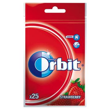 Orbit – Wild Strawberry Guma do żucia w torebce, nie zawiera cukru i wspiera codzienną higienę.