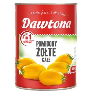DAWTONA Pomidory żółte w całości bez skórki 400g