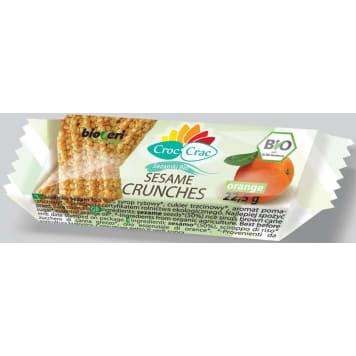 Sezamki pomarańczowe 23 g - Bioveri. Eko składniki.