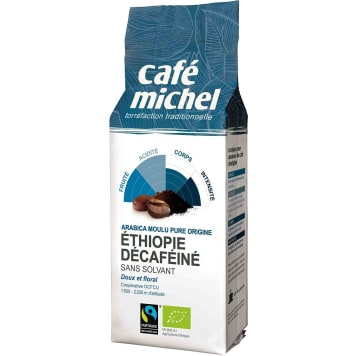 Kawa mielona bezkofeinowa Etiopia Fair Trade - Cafe Michel