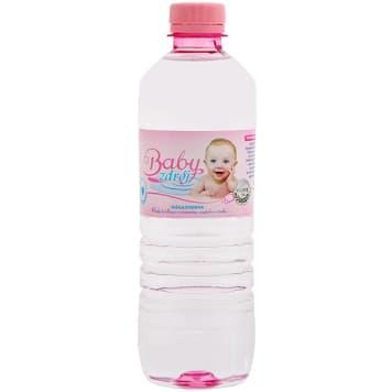 Woda źródlana niegazowana – Baby Zdrój. Czerpana z terenów Polesia smakuje prawdziwą naturą.
