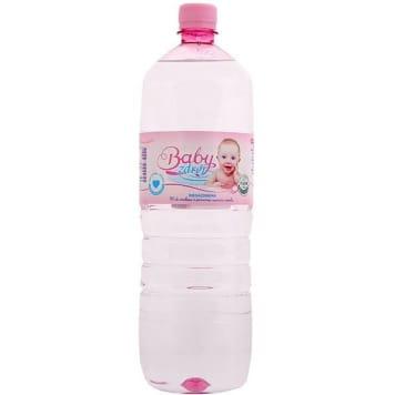 Woda źródlana - Baby Zdrój. Produkt najwyższej jakości, bez dodatku szkodliwych substancji.