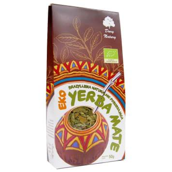 Herbata Yerba Mate bio – Dary Natury dzięki zawartym składnikom pobudza, odpręża i wpływa na pamięć.