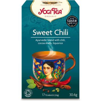 Herbata Sweet Chili - Yogi Tea. Wyśmienita mieszanka o wyrazistym smaku i aromacie.