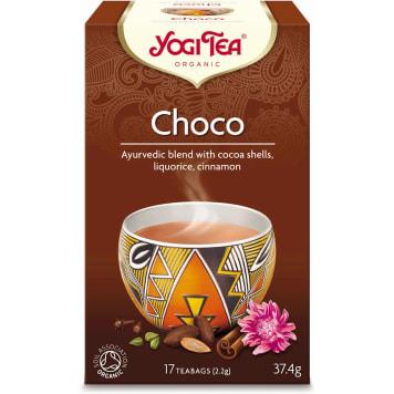 Herbata czekoladowa, 17 torebek, 30g - Yogi Tea. Dla miłośników niezapomnianych smaków.