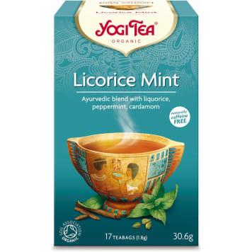 Mint z miętą i lukrecją - Yogi Tea