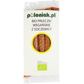 POLONIAK Pałeczki wegańskie z soczewicy 200g