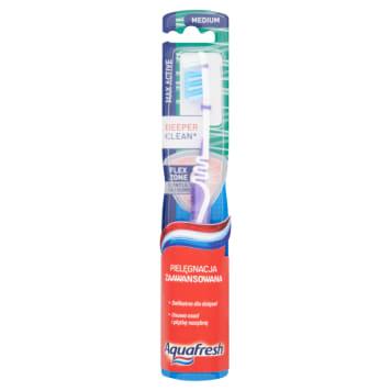 AQUAFRESH Max Active Szczoteczka do zębów Medium 1szt