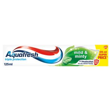 AQUAFRESH Triple Protection Pasta do zębów Mild and Minty 125ml