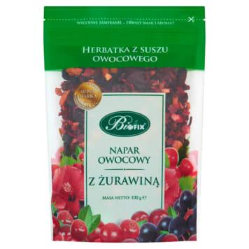 BIFIX Napar Owocowy Z Żurawiną Herbatka z suszu owocowego 100g