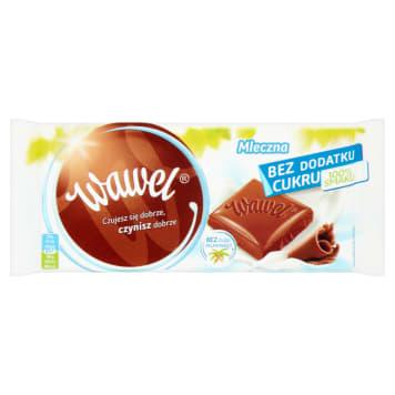 WAWEL Czekolada bez dodatku cukru mleczna 100g