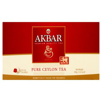 AKBAR Herbata czarna 100g