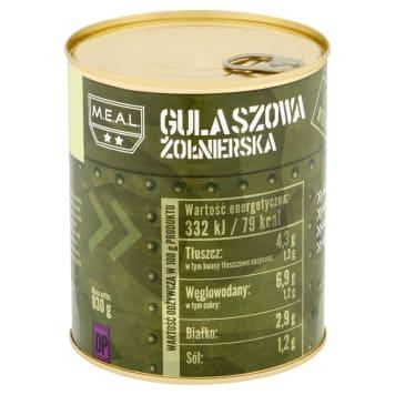 M.E.A.L. Zupa gulaszowa żołnierska 830g