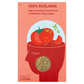 ZIELONE POJĘCIE Zupa z suszonych pomidorów z dodatkiem kaszy bulgur 150g