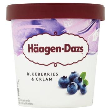 Lody Blueberries&Cream - Haagen Dazs