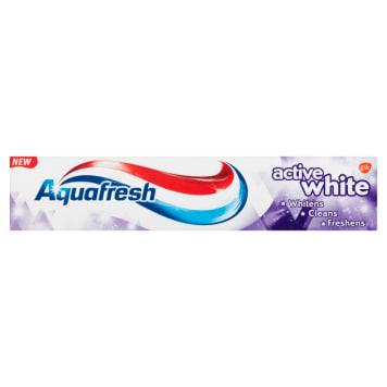 AQUAFRESH Active White Pasta do zębów z fluorkiem 125ml