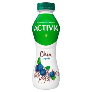 DANONE Activia Jagoda Chia Jogurt 280g