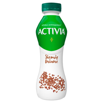 DANONE Activia Drink Siemię lniane Jogurt 280g