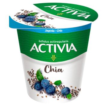 DANONE Activia Jogurt Jagoda Chia 140g