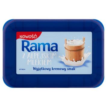 RAMA Margaryna z alpejskim mlekiem 225g